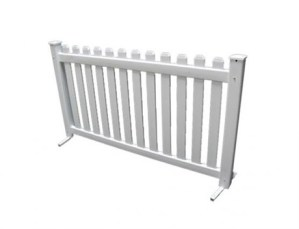 White Picket Fence - Party Rentals