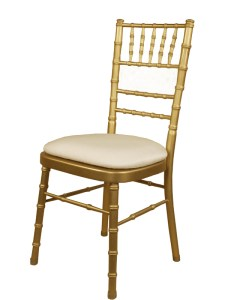 Gold Chiavari Chair - Party Rentals