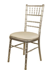 Silver Chiavari Chair - Party Rentals