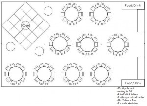 30 x 50 Tent Layout 2