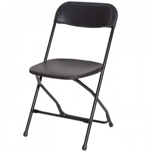 Black Folding Chair - Chair Rental